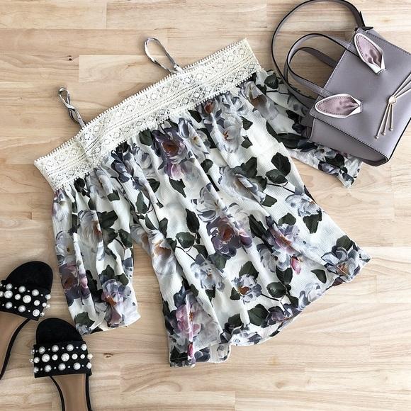 Tops - Stella Floral Crochet Top
